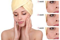 Kosmetik und Make-up Lizenzfreie Stockbilder