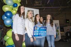 Junges Unternehmen, Tag 2 Lizenzfreies Stockbild