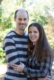 Junges verheiratetes Paar lizenzfreie stockfotografie