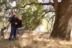 Junges verheiratetes Paar Stockfotografie