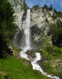 Jungfernsprung waterfall near Heiligenblut Stock Images