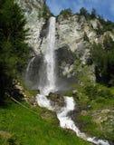 Jungfernsprung waterfall near Heiligenblut Stock Images