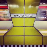 Jungfernstieg station Royalty Free Stock Images
