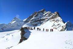 jungfrau瑞士 免版税库存图片