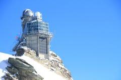 Jungfrau,瑞士 免版税库存照片