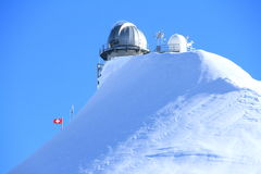Jungfrau,瑞士 免版税库存图片