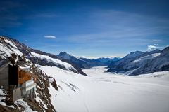 Jungfrau - κορυφή της Ευρώπης Στοκ φωτογραφία με δικαίωμα ελεύθερης χρήσης