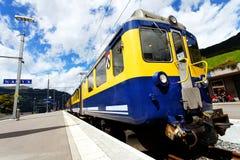 Jungfrau Bahn in Grindelwald Railwaystation Royalty Free Stock Photos