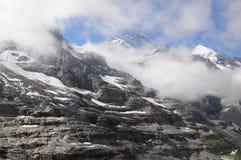 Jungfrau Berg. lizenzfreies stockfoto