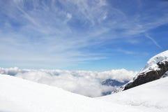 Jungfrau, berg Stock Afbeelding