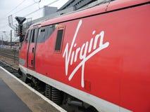 Jungfrau bildet Ostküsten-Zug aus Lizenzfreies Stockbild