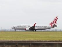 Jungfrau Boeings 737-8FE, Australien Lizenzfreie Stockfotos