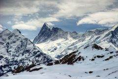 Jungfrau die Schweiz stockfotos