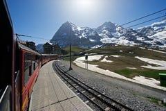 Jungfrau en soleil Image libre de droits
