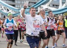Jungfrau-Geld-London-Marathon, am 24. April 2016 Stockfoto