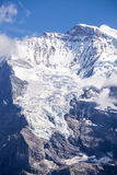 Jungfrau glaciers Stock Photography