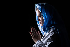 Jungfrau Maria Lizenzfreies Stockfoto