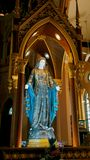 Jungfrau Maria Stockfotos