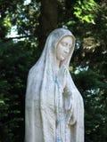 Jungfrau Maria mit Rosenbeet Lizenzfreie Stockfotografie