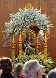 Jungfrau Maria und der tote Jesus Stockbild