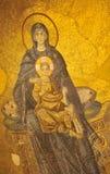 Jungfrau Maria und Schätzchen Jesus Lizenzfreies Stockfoto