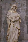 Jungfrau Maria unter dem Kreuz Lizenzfreies Stockbild