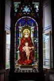Jungfrau Maria, Vatikan-Museum Stockbild