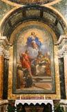 Jungfrau- Mariamalerei in Rom Lizenzfreie Stockfotos