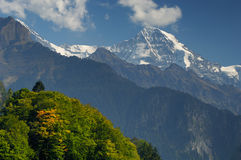 Jungfrau Massif Stock Photo