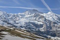 Jungfrau, montagna Fotografia Stock Libera da Diritti