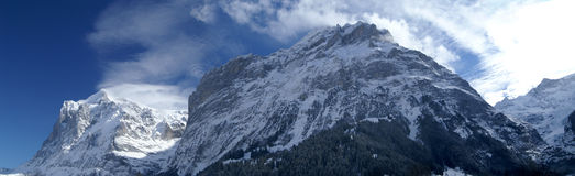 Jungfrau mountain Royalty Free Stock Photo
