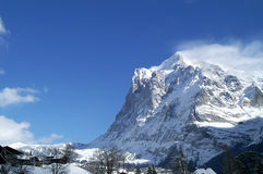 Jungfrau mountain Stock Photography