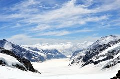 Jungfrau mountain Stock Image
