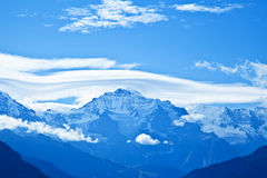 Jungfrau Mountain Range, Switzerland Royalty Free Stock Photo