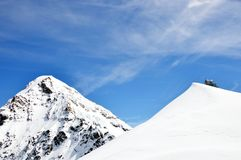 Jungfrau mountain Royalty Free Stock Images