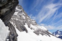 Jungfrau mountain Royalty Free Stock Photos