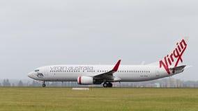 Jungfrau Passagier-Boeings 737-8FEE Austral Lizenzfreie Stockbilder