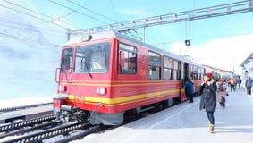 Jungfrau Railway, Switzerland stock photo