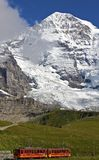 Jungfrau Railways Royalty Free Stock Images