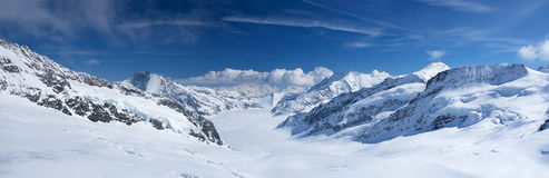 Jungfrau region Royalty Free Stock Image
