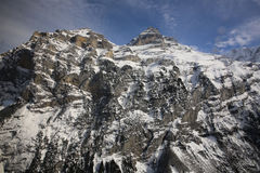 Jungfrau Region Stock Photography