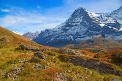 Jungfrau region Stock Photo