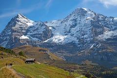 Jungfrau region Stock Images