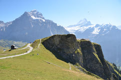 Jungfrau region, Switzerland Royalty Free Stock Images