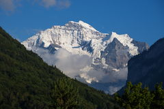 Jungfrau sunset Royalty Free Stock Images