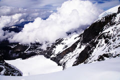 Jungfrau, Svizzera Fotografia Stock
