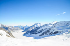 Jungfrau Svizzera Fotografie Stock Libere da Diritti