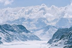 Jungfrau Switzerland Stock Images
