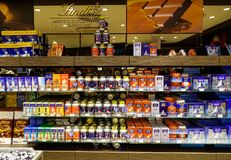 Lindt Chocolate Shop in Jungfraujoch stock photos