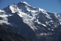 The Jungfrau (Switzerland) Royalty Free Stock Photography